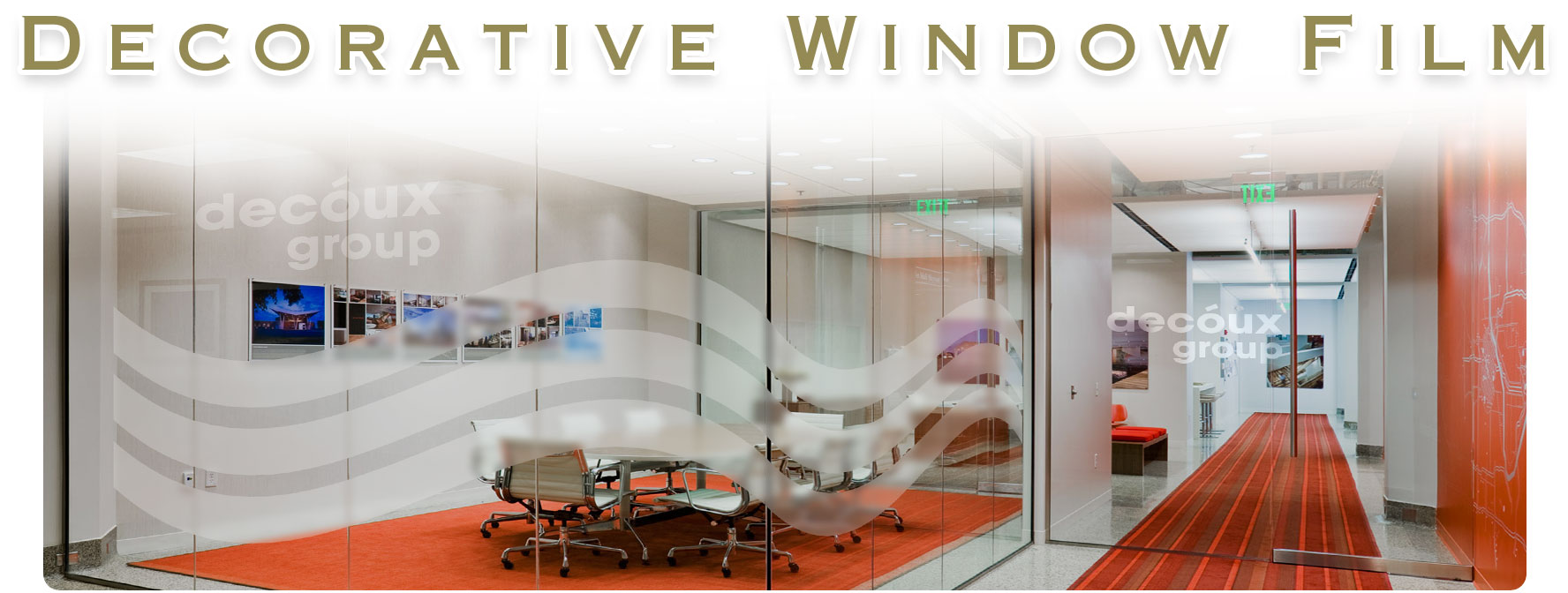 midas window film always working on offering the widest selection of films to our customers has a complete decorative film line with beautiful designs - Decorative Films